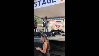 "Tailgate Watch: Jimmie Allen performs ""Best Shot"" at WMZQ Fest Video"