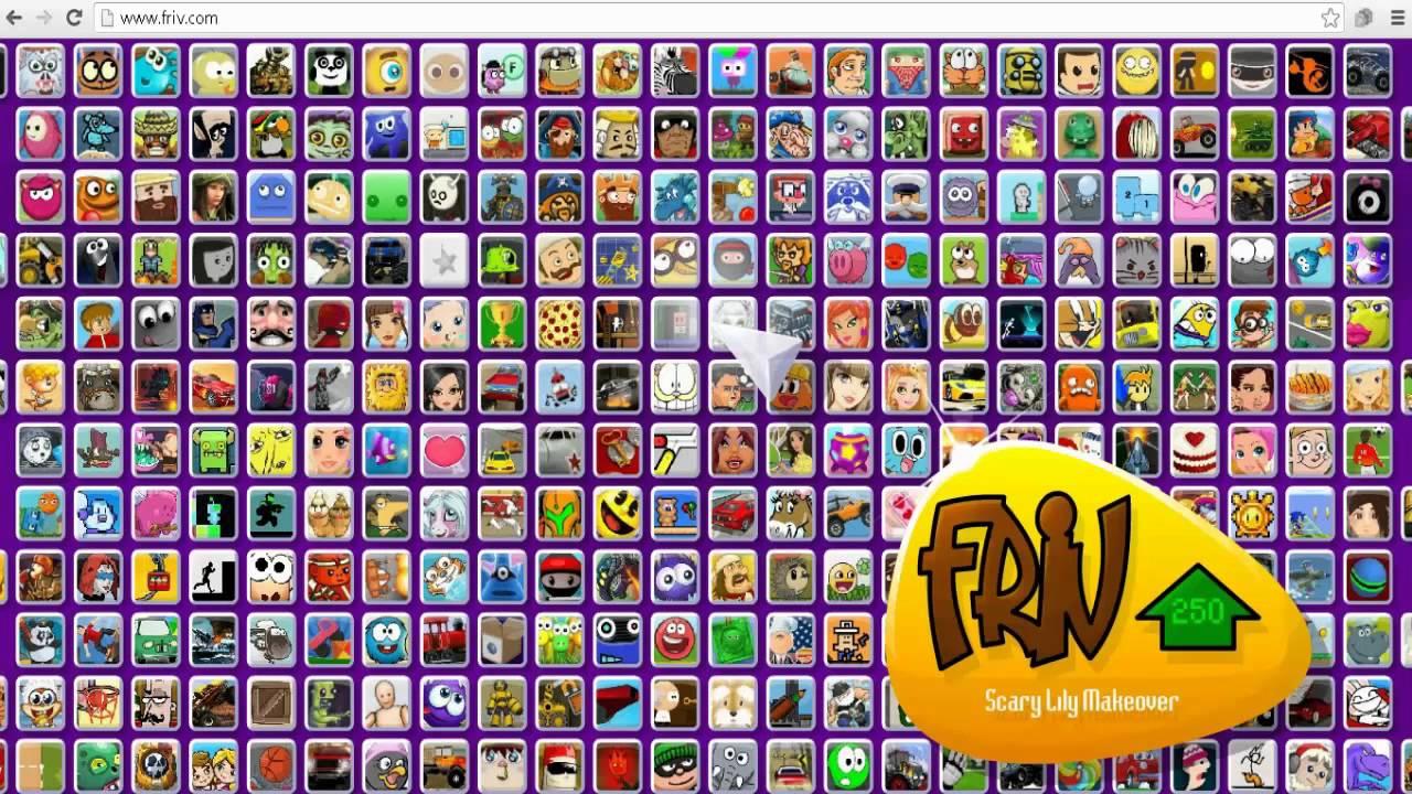 Los 4 Juegos Ocultos De Friv Juanmacrk10 Youtube
