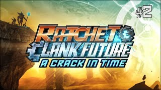 Twitch Livestream | Ratchet & Clank Future: A Crack in Time Part 2 [PS3]