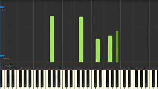 Queen - It's a Beautiful Day (Piano Tutorial)
