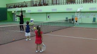 Большой теннис. Смэш. Видеоурок.