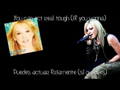 Hilary Duff - So Yesterday (Lyrics English/Spanish) + Download Link!