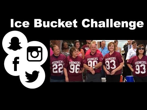 Hinds Community College Ice Bucket Challenge