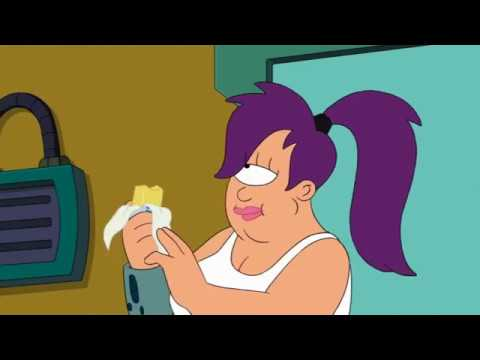 Futurama Leela Amy Gets Fat