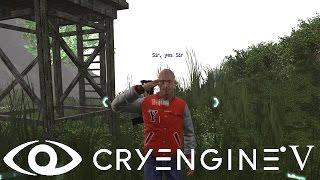 Cryengine V/5#67 Диалог, Сообщение, Разговор. Высказывание AI. Dialogue, Dialog Lines