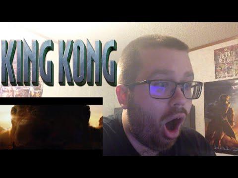 Kong: Skull Island Official Comic-Con Trailer Reaction!