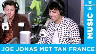 Joe Jonas Literally Bowed To Tan France at Disney World