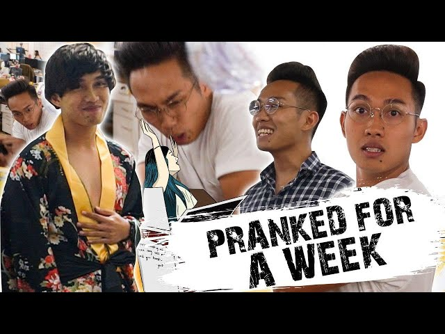 #LifeAtTSL: We Pranked Our Colleague Every Day For One Week Straight