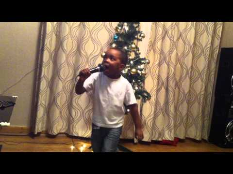 Little Nii Adotey 3yrs singing and dancing