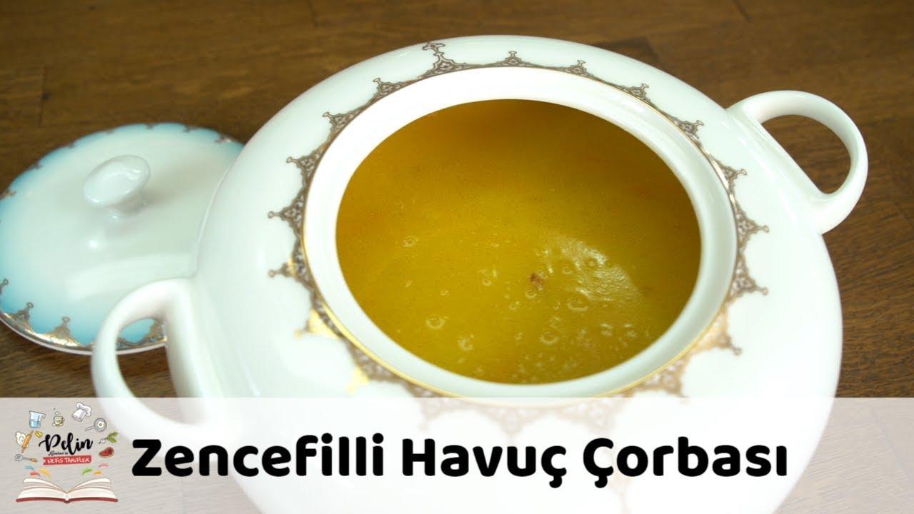 Zencefilli Havuç Çorbası Tarifi