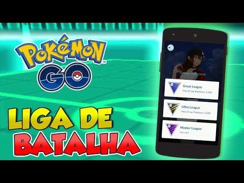 PVP: LIGAS DE BATALHA  - Pokémon Go