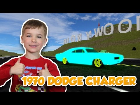 RACING with 1970 DODGE CHARGER in ROBLOX VEHICLE SIMULATOR | DRAG RACES | CAR STUNTS