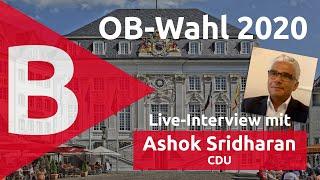 Interview mit Ashok Sridharan zur OB-Wahl 2020 Bonn