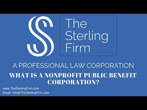 what-is-a-nonprofit-public-benefit-corporation?