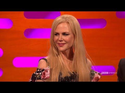 Nicole Kidman Defends That Alexander Skarsgård Emmy Kiss - The Graham Norton Show