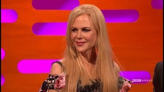 Nicole Kidman Defends That Alexander Skarsgård Emmy Kiss - The Graham Norton Show