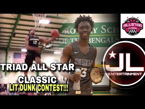 059d8b7defd414 Triad All-Star Classic Basketball Game   Dunk Contest!!
