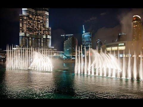 Дубай фонтан музыка дом на мальдивах