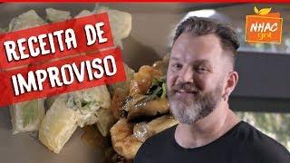 Camarões Com Cogumelos E Batatas Defumadas Jimmy Tem Apenas 30 M NUTOS 🦐🍄  Desafio Ogro