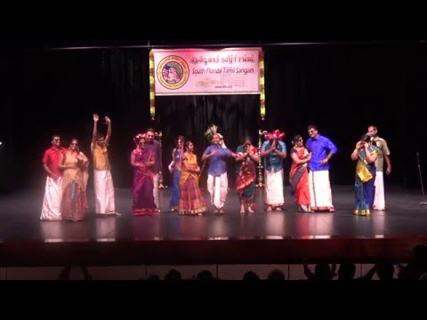 South Florida Tamil Sangam Pongal Event 2016 - Dance Medley