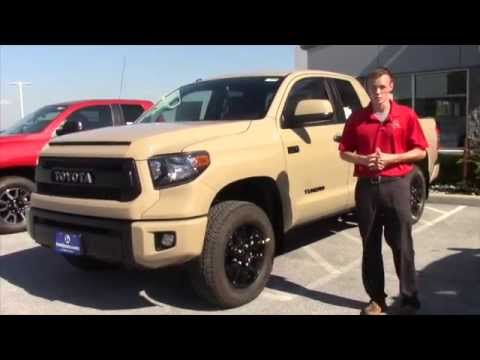 2016 Toyota Tundra TRD Pro Review from Connor - YouTube