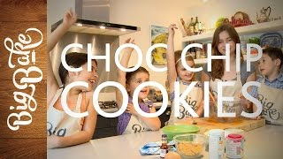 Big Bake CHOC CHIP COOKIES with Little Bakers, featuring Martha Collison