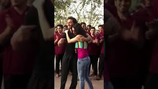Tiger Shroff Tries Stunt On Shraddha   WhatsApp Status Video