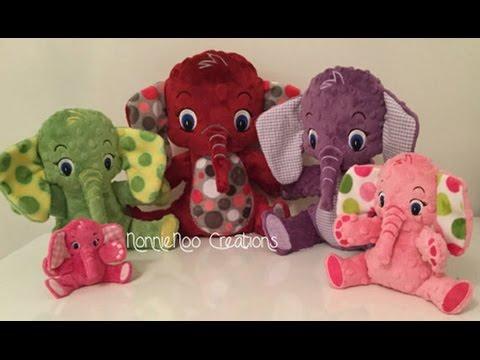 NonnieNoo Creations - ITH Elephant Family