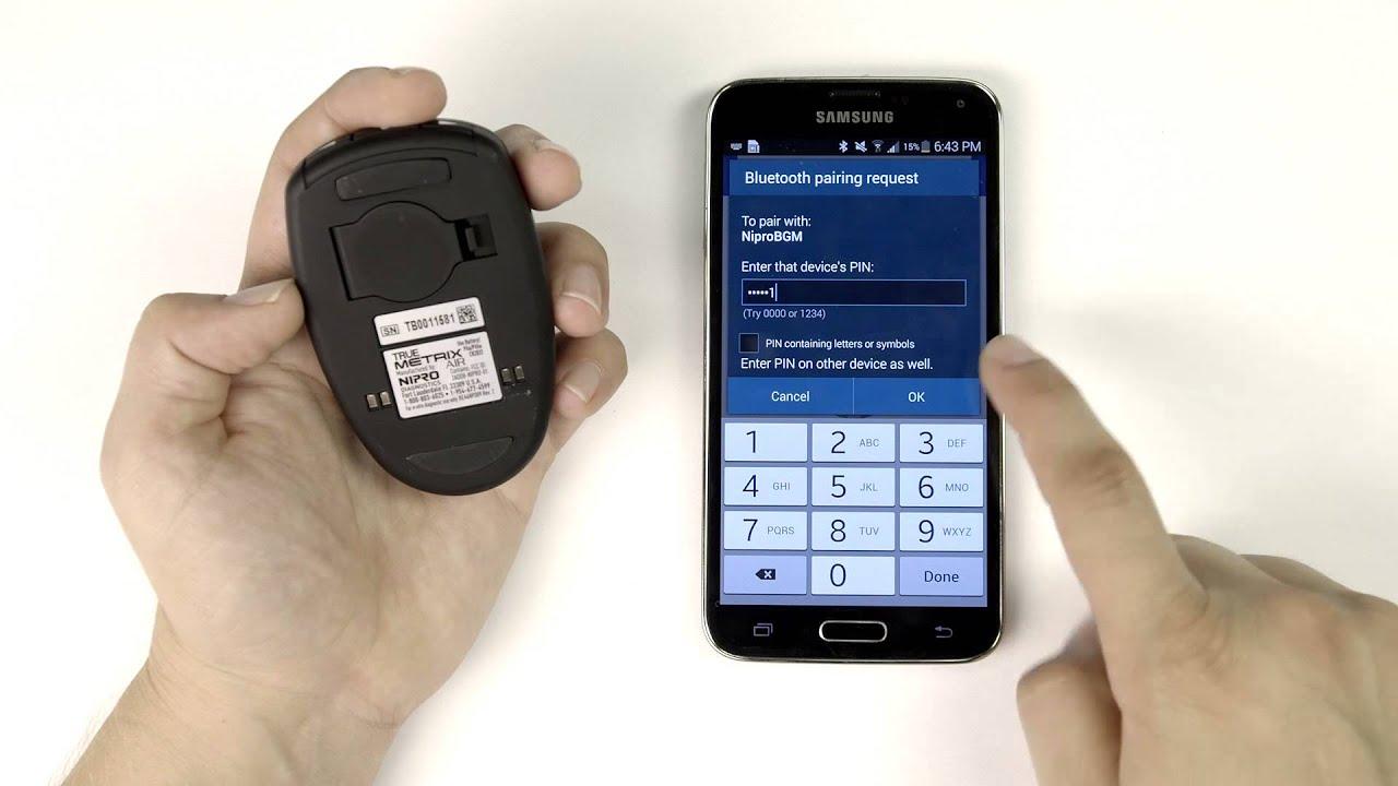 Nipro TRUEMETRIX Air - Sync with Glooko Mobile App