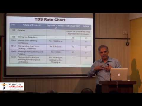 What are the rates at which TDS is to be deducted?