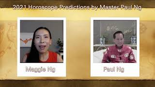 2021, Year of Metal OX, Zodiac Prediction, ROOSTER people, Feng Shui Master, Paul Ng,  Canada