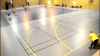 3x2 et 3X3 exercice de futsal, replis défensif
