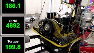 Mike Moore 2.8RSR - 3.0Ltr Engine Test Run6-331bhp
