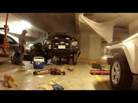 Toyota Tacoma Front Lift Install