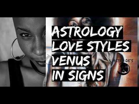 Astrology Love and Attraction Styles
