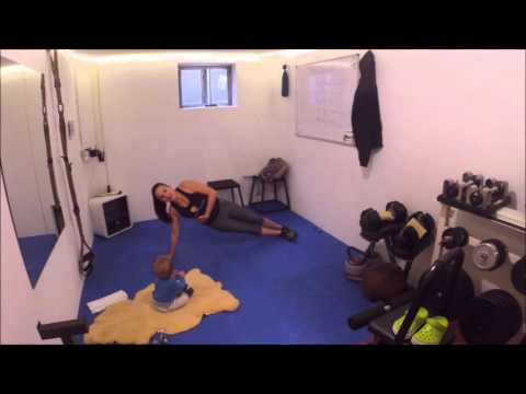 Fitness United Baby Fit Workout #3 - Training mit Kind - 20 Minuten