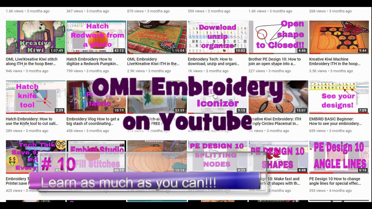 10 Steps To Selecting The Best Machine Embroidery Software For You Youtube