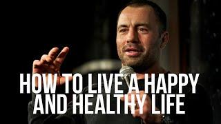 How to Live a Happy and Healthy Life - Joe Rogan