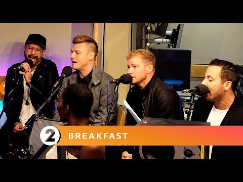 Backstreet Boys  No Diggity Blackstreet Cover  Radio 2 Breakfast  Session