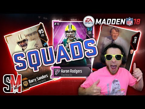 MUT Squads Super Bowl run! Gauntlet Unleashed Pack! Madden NFL 18 Gameplay