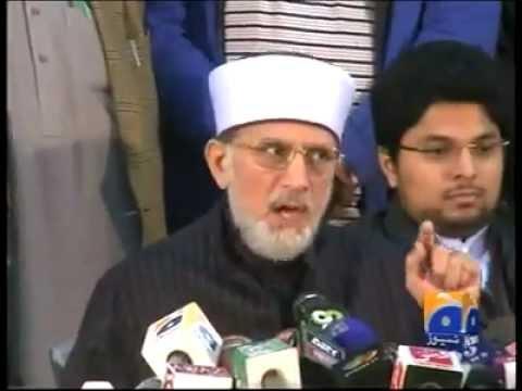 Dr.Tahir-ul-Qadri Charter of Demand