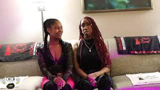 DestinyMuah and Ashley Noelle CalmDownTv Interview Part 3