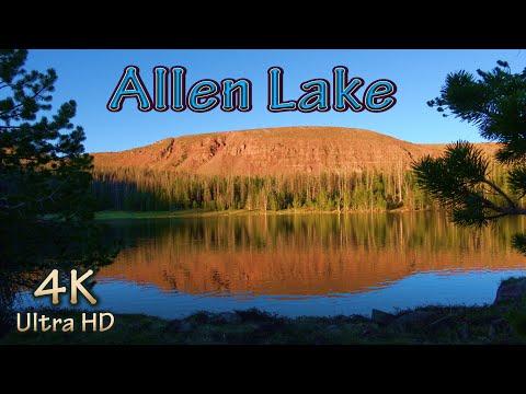 Backpacking Trout Fishing Grayling & Brookie/Utah Uinta Mountain Wilderness Hiking & Camping/4K Best