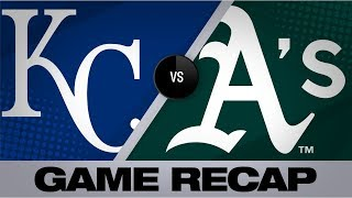 Canha, A's walk-off vs. Royals in extras | Royals-Athletics Game Highlights 9/18/19