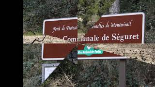 SEGURET- VAUCLUSE PLUS BEAU VILLAGE DE  FRANCE