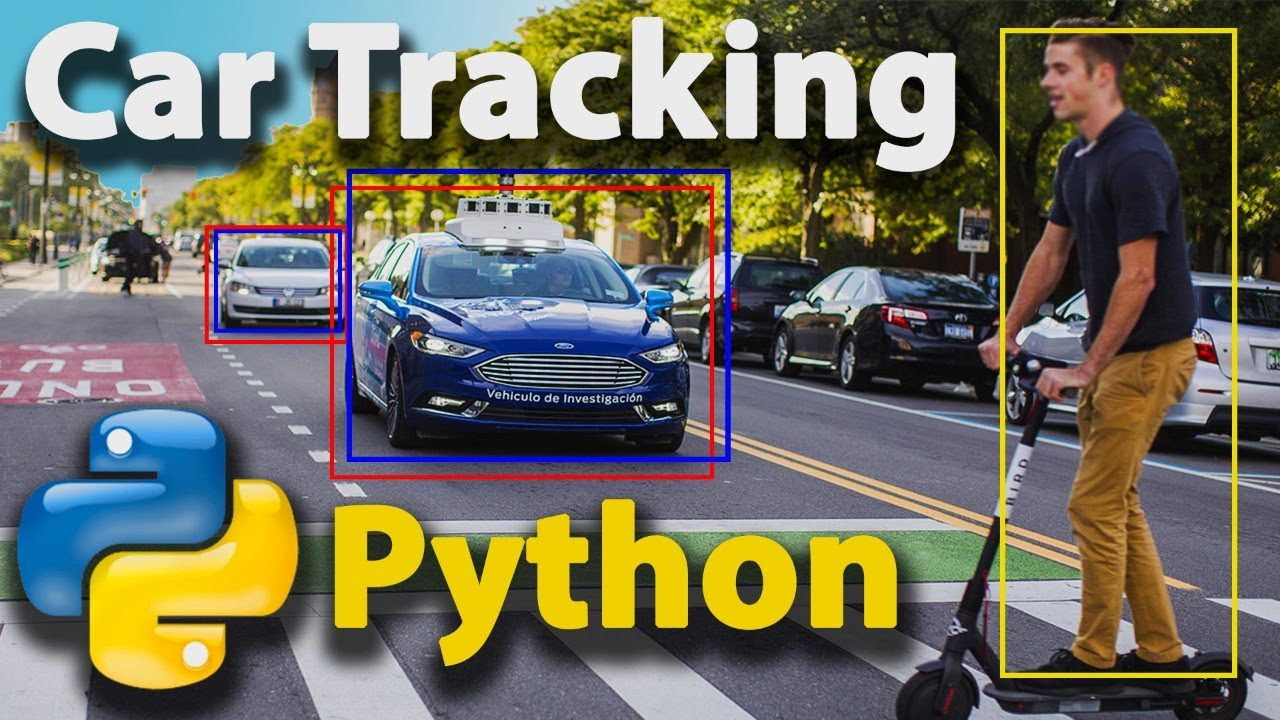 Build AI Car & Pedestrian Tracking with Python for Beginners (Tutorial)