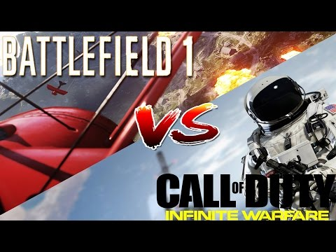 BATTLEFIELD 1 vs Call of Duty:Infinite Warfare|Wojna Tytułów