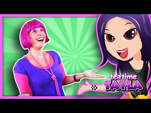 Head Shoulders Knees and Toes Song with Debbie Doo Kids TV on Tea Time with Tayla