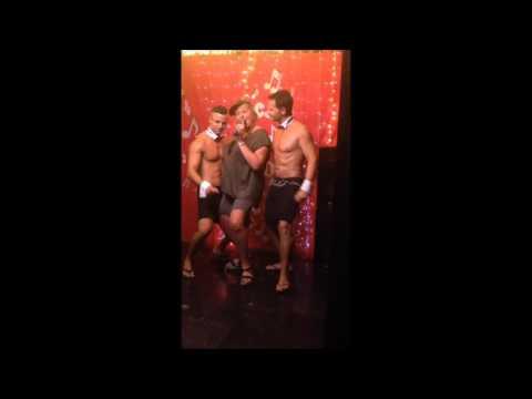 Cheeky butler benalmadena, hen party in karaoke