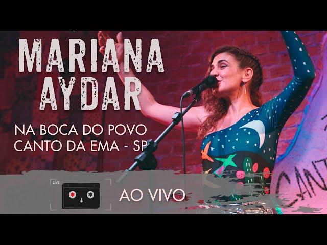 Mariana Aydar - Na Boca do Povo - Canto da Ema/SP